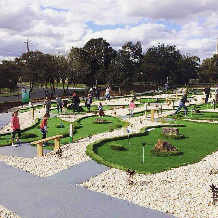 New 18 hole mini golf course - just for fun!